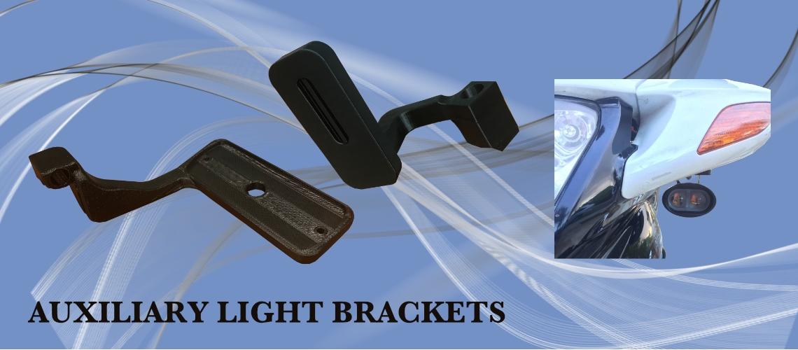 AUXILIARY LIGHT BRACKETS