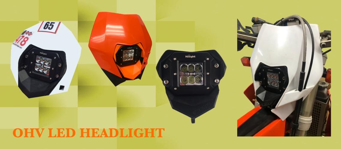 OHV LED HEADLIGHT