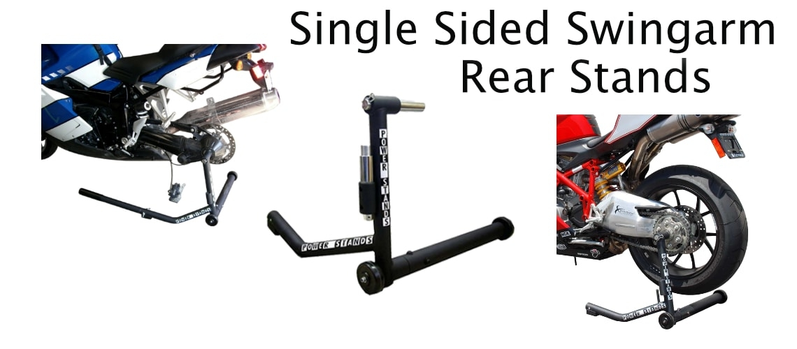 SINGLE SIDED SWINGARM REAR STAND