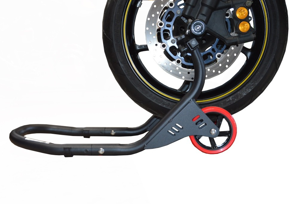 FRONT FORK STAND-DELUXE BLACK 00-00111-02
