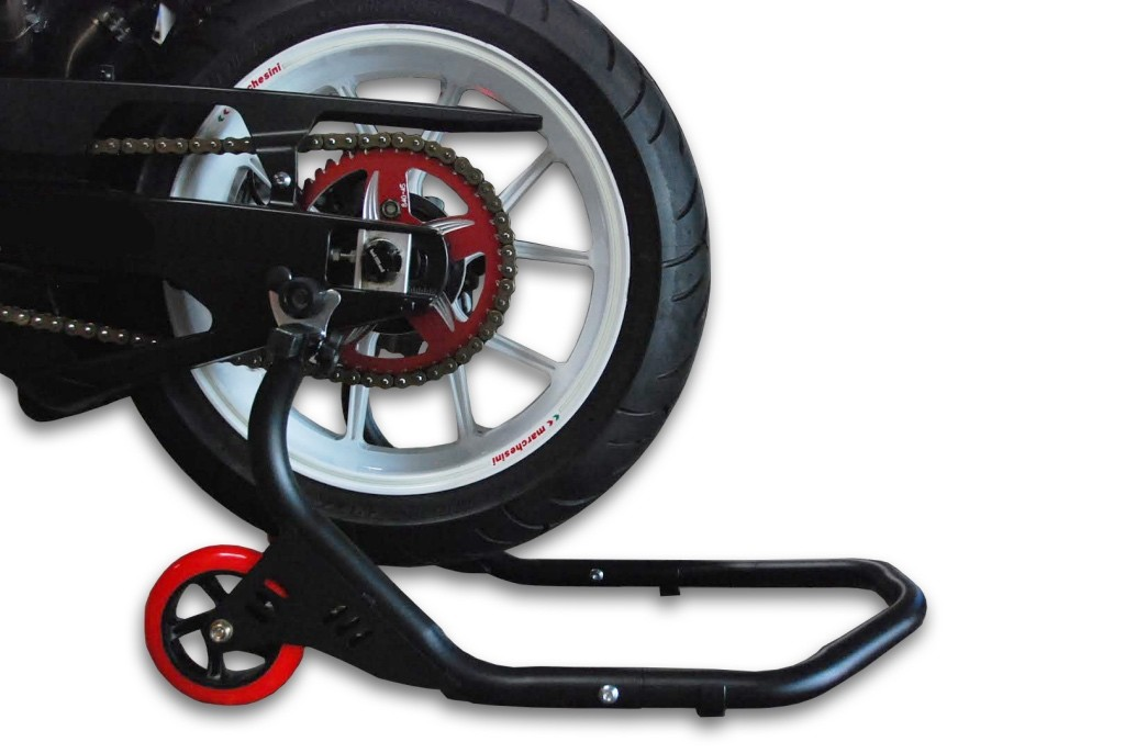 REAR STAND SPOOL-DELUXE BLACK 00-00112-02