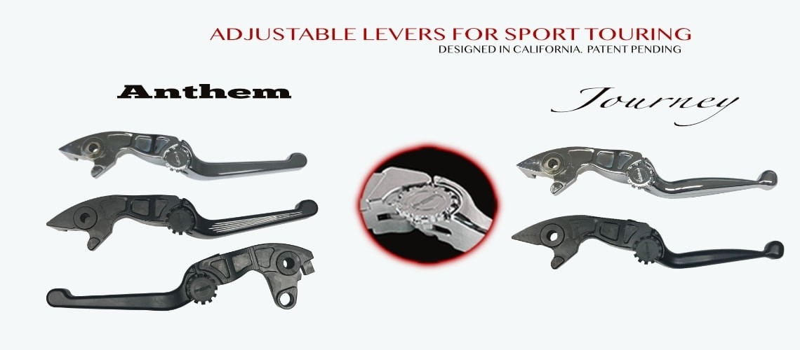 Journey & Anthem adjustable levers for Sport Touring