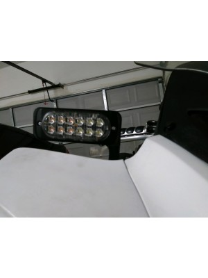 ST1300 Over Mirror Strobe Light Bracket